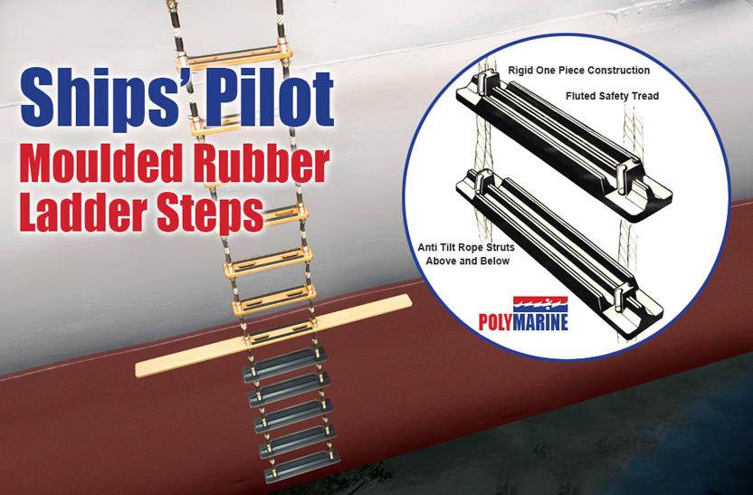 Moulded Rubber Pilot Ladder Steps